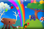 Colorful fun difference game